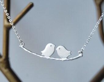Silver Love Birds