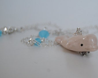 Beluga Whale Necklace
