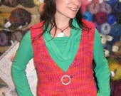 Linda's Beginner Vest - Knit Pattern