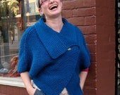 Unstructured Cardie Shawl - Knit Pattern