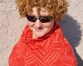 Entrelac Shoulder Warmer - Knitting Pattern