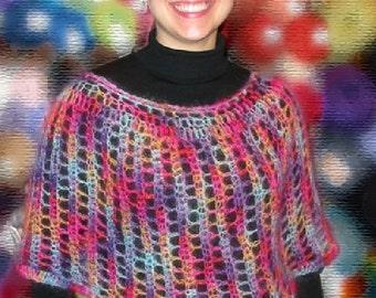 Angel Hair Capelet - Crochet Pattern
