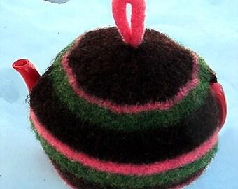 Felted Tea Cozy - Knit Pattern