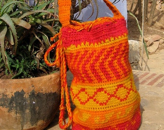 Shopping Bag - Crochet Pattern
