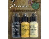 Vintaj Patina Kit, Retro Highway, Permanent, Fast Drying, For All Metals vpk34797