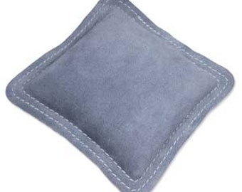 """Bench Block Pad Leather 5.5"""" x 5.5"""" Reduce Sound and Vibrations"""