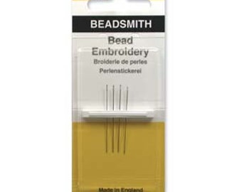 Size 13 Seed Bead Needles, 2 Packages of 4 BS BN134