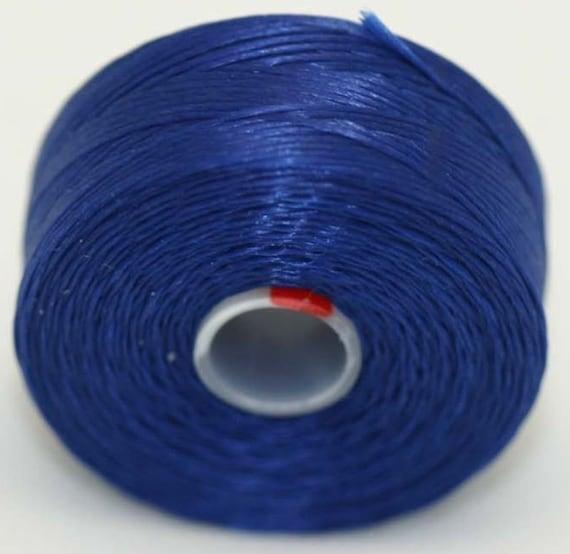 royal blue seed bead thread c lon size d 2 bobbins
