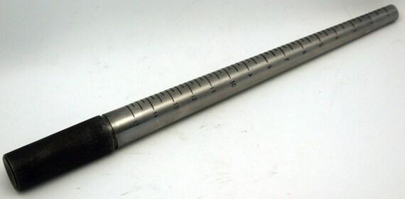 Ring Mandrel Steel Sizes 1 thru 15 Textured Handle