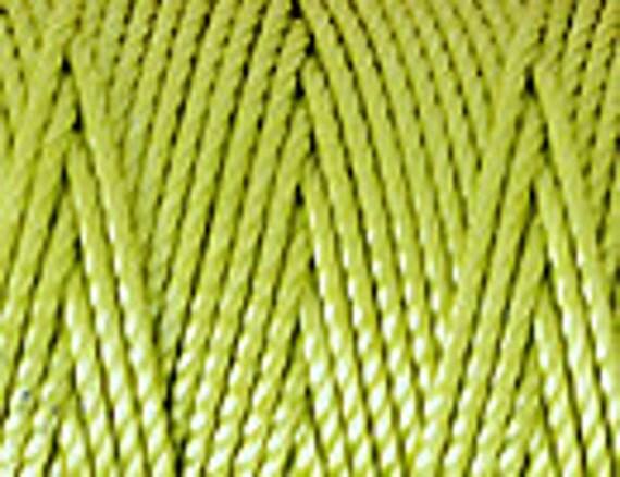 Chartreuse C-Lon Tex 400 Beading Cord 43 Yards