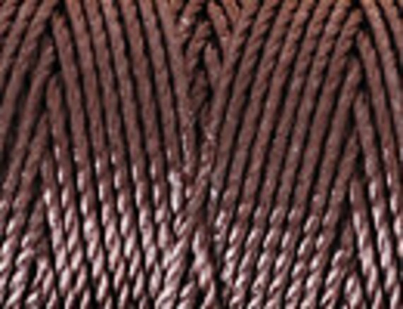 Chocolate C-Lon Tex 400 Beading Cord 43 Yards