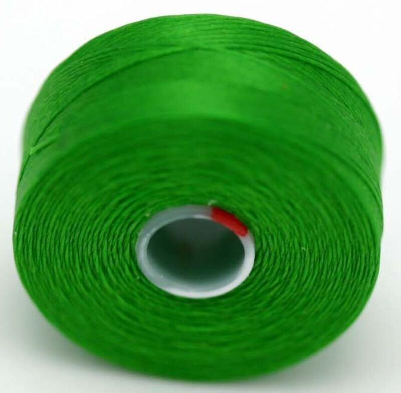 green c lon seed bead thread size d 2 bobbins