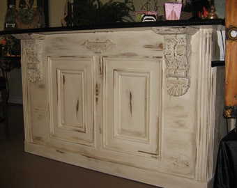 Tuscan/ French:  Bar, Retail Counter / Reception Desk Kitchen Island