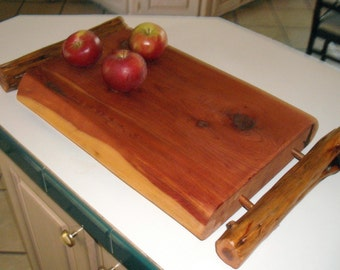 Cedar  Serving Tray, Great for Rustic Wedding Too