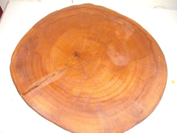 Large Rustic Wedding Cake Log Slice