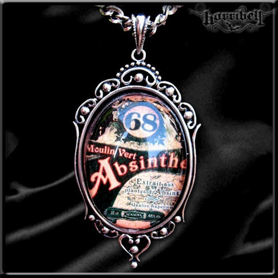 Gothic ABSINTHE Necklace