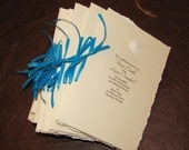 Beach Wedding-Sand Dollar Ceremony Program-Completely Custom