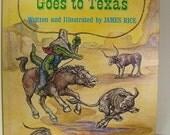 Vintage Book Gaston Goes to Texas