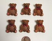10  Sweet Bear Buttons