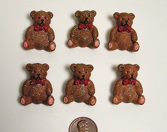 10  Sweet Bear Buttons