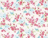 Sugar Hill Collection by Tanya Whelan Birdy in White Fabric