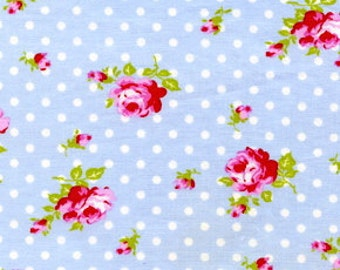 LAST YARD Tanya Whelan - Delilah Collection - Rose Buds in Blue