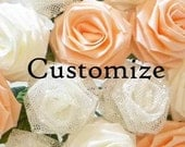 Customize Your Origami Rose Bouquet (19 Qty Gift Wrapped), Anniversay Gift, Valentines day gift, Party favors