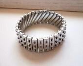 Vintage Punk Customizable Metal Bracelet