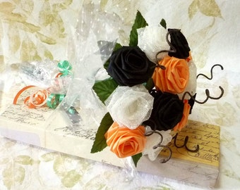 Halloween Special Origami Rose Bouquet (Gift Wrapped)