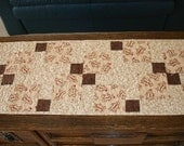 Ginger Bread Table Runner, free shipping in US and Canada