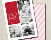 custom valentine's day photo card - come together.