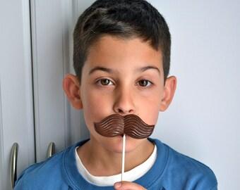 Mario Brother Mustache Lollipops 25 Pieces