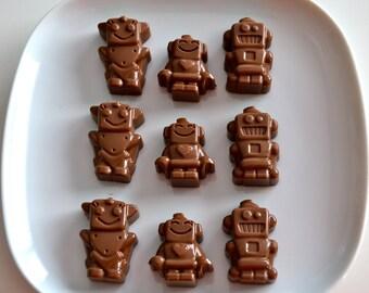 Robot Chocolate Candy 2 Dozen