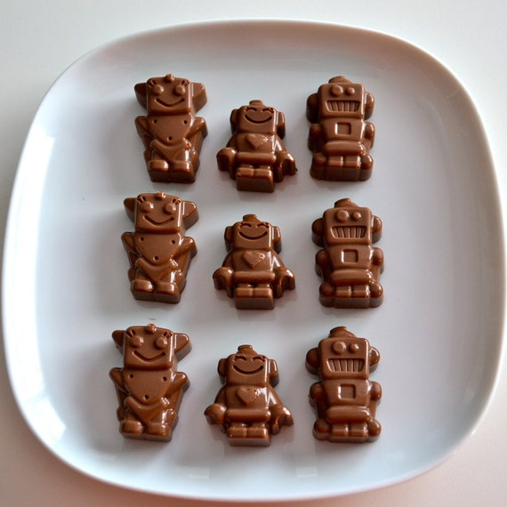 Robot Chocolate Candy 2 Dozen