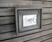 picture frames in driftwood gray cove style . 4x6 handmade picture frame