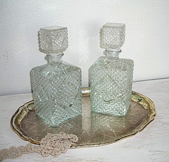 vintage decanters for your bar antique barware mid century