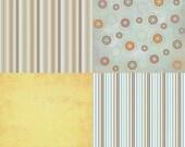 Scrapbook decorative papers pack