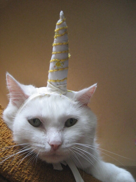 Unicorn Costume for Cats