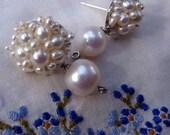 Pearly Girl Ear Bobs