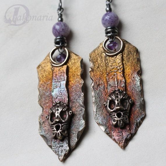 Aes Brundusinum - purple and masks