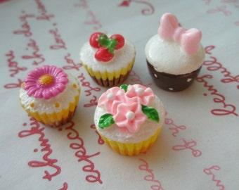sale Miniature Cupcake and cake Mix Set E 4pcs