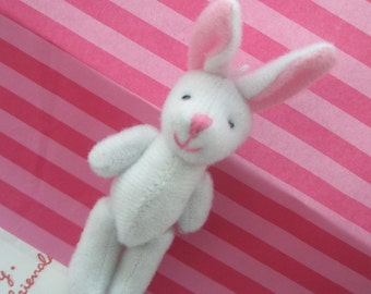 Size-M WHITE bunny doll 1pc