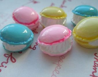sale 3D small Cute Macaron 6pcs Mix