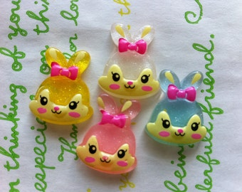 Retro Bunny 4pcs