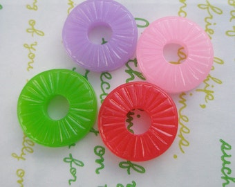 Jelly Candy cabochons 4pcs SET B