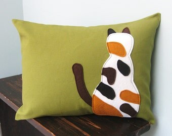 Calico Cat Pillow Cover