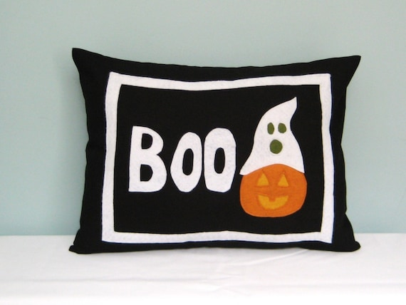 READY TO SHIP Boo Pillow plus Insert