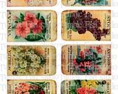 More Flower Seeds - 2 Sheet image set