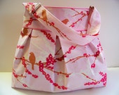 Delila Bag - Sweet Pink Sparrows