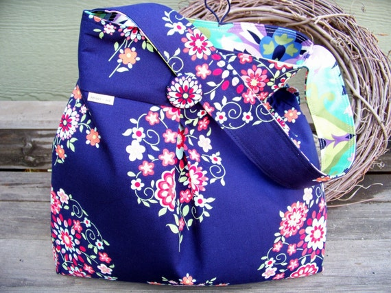 Diaper Bag Tote bag - Trumpet Flowers